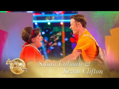 Susan And Kevin Jive To 'The Ole House' - Strictly Come Dancing 2017