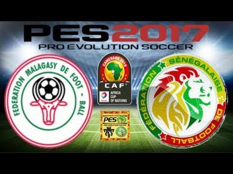 PS4 PES 2017 Gameplay Madagascar vs Senegal HD