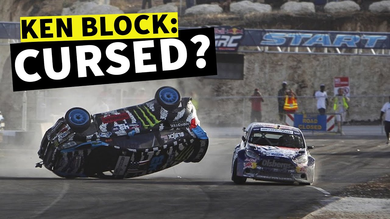 Ken Block Cursed In Barbados? After Crashing Twice, Ken Block Attempts To FINALLY Win in Barbados!