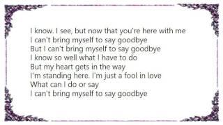 Badfinger - To Say Goodbye Lyrics YouTube Videos