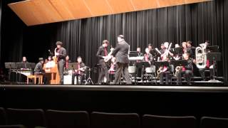 Kingsway Regional Jazz Ensemble, Millville Reg Championships March 28, 2015 - Manteca