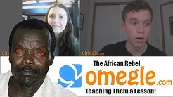 African Rebel Made Them Learn A Lesson On Omegle! **SECRET REVEALED**