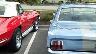 two 1960's   mustangs!