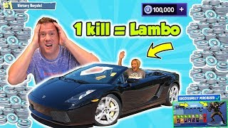Fortnite Kid's Angry Mom Wins a Lamborghini with 1 Kill | DavidsTV