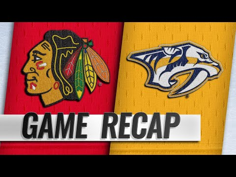 Laviolette earns 200th win as Preds top Blackhawks