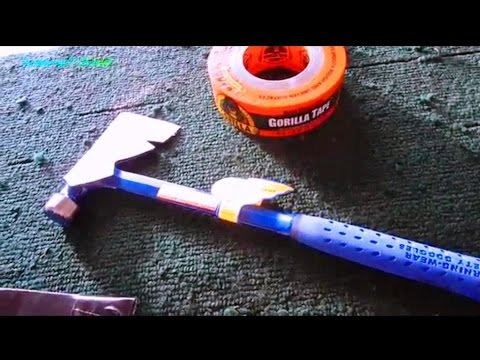 Made in USA Estwing Combo Hatchet & Hammer