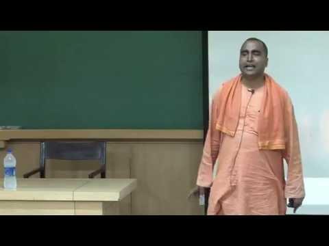 Swami Narasimhananda: Workshop on Managing Relationships at IIT Kanpur