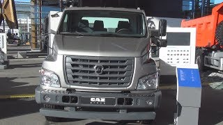 GAZon NEXT C41R33 10 Extended Base Tipper Truck 2017 Exterior and Interior