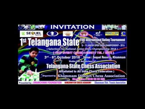1st TELANGANA STATE CHESS FIDE INTERNATIONAL TOURNAMENT