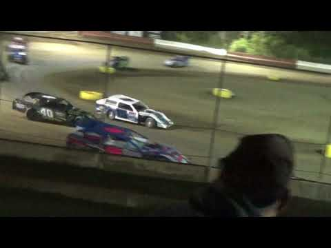 Clips from a crazy A-mod Feature at Highland Speedway 4-28-18