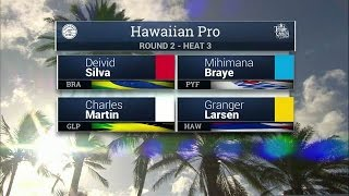 2016 Hawaiian Pro: Round Two, Heat 3