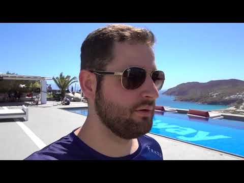 SK em Mykonos #2 - Media day e praia grega! [VLOG] (English CC)