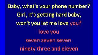 time  - 777-9311  (karaoke)