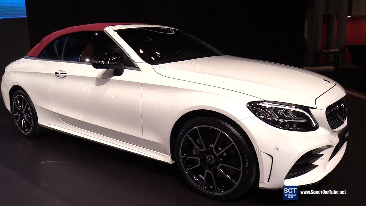 2019 Mercedes Amg C Class Cabriolet Exterior And Interior