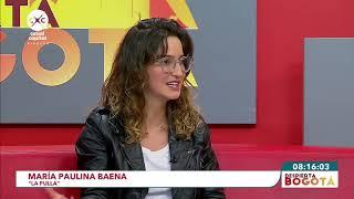 María Paulina Baena nos cuenta sus inicios en La Pulla - Despierta Bogotá