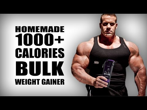 Homemade Bulk Mass Gainer without supplements | 1000+ calori