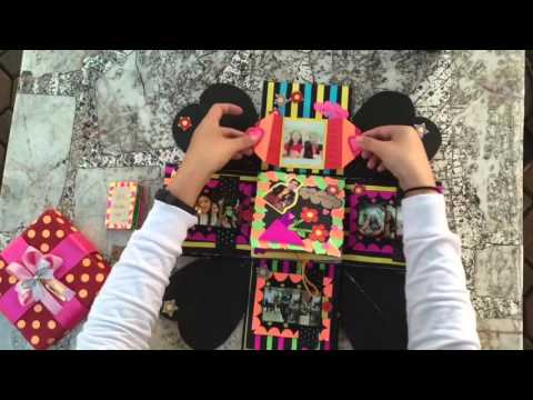 Explosion box / DIY / Handmake / กล่องของขวัญให้แฟน / Exploding box / Anniversary