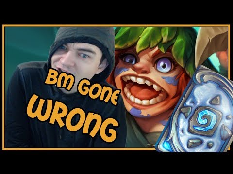 His BM went SO WRONG | Mehca'thun Warlock | Rastakhan's Rumble | Hearthstone