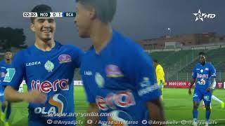 مولودية وجدة 0-1 الرجاء الرياضي هدف حميد أحداد في 03
