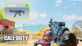 *NEW* MP5 SMG GAMEPLAY in CALL OF DUTY MOBILE! SEASON 7 TEST SERVER 60 FPS