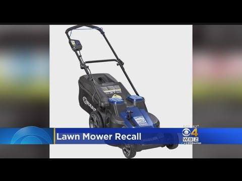Recall Notice For Roybi and GreenWorks Cordless Electric Lawn Mowers