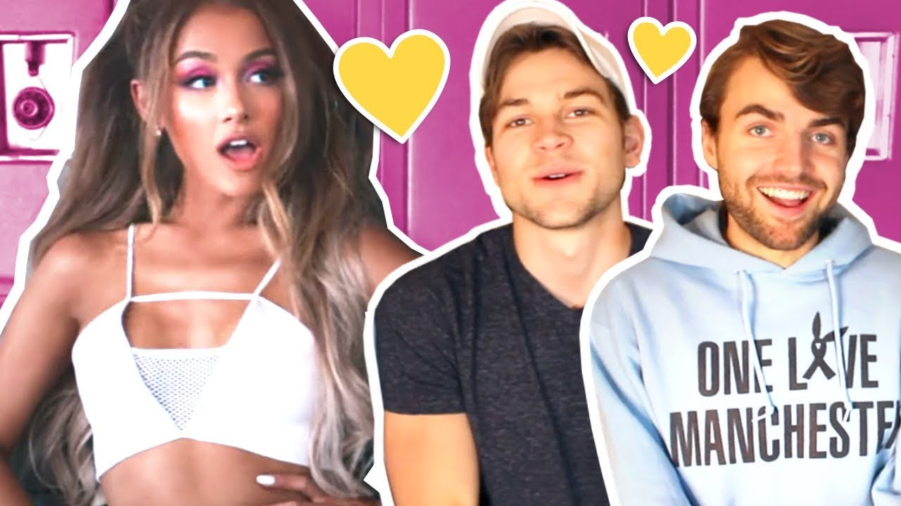Boyfriends React To Ariana Grande Side To Side Break Free Problem Mv