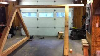 Timber Frame Cabin Off-grid Homestead Update Wranglerstar