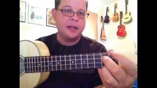 Beatles - Here Comes the Sun - Ukulele Tutorial
