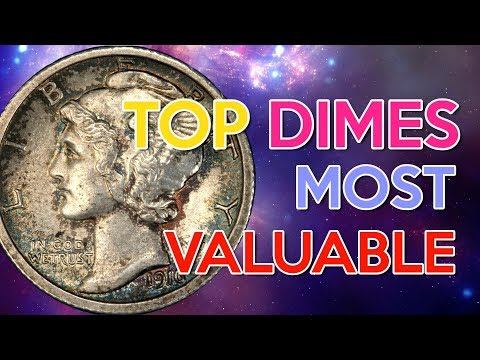 🌠Top Dimes Most valuable 🌌 - US Silver Coins