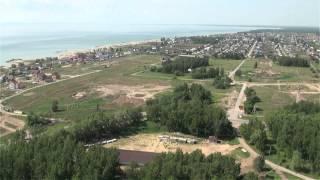 видео Коттеджные поселки Новосибирска на Обском море: Золотая долина, Классика и Морской