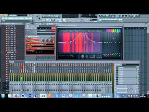 Tutoriel FL Studio 9 - Nouveau réglage mixer et formula controller