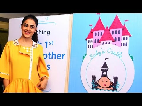 Genelia D'Souza at the launch of India's 1st Baby & Mother wellness Centre