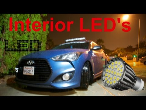 How To Install LED Bulbs On Veloster Turbo Interior