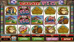 FREE Karate Pig  ™ slot machine game preview by Slotozilla.com