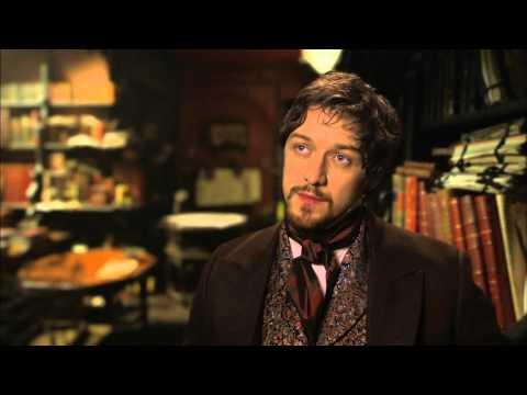 """Victor Frankenstein: James McAvoy """"Victor Frankenstein"""" Behind the Scenes Movie Interview"""