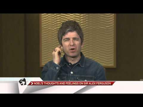 Noel Gallagher on Ferguson Balotelli Taylor Swift Hulk Hogan on OTR