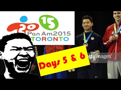 Day 5 And 6 At The 2015 Pan American Games, Toronto Canada