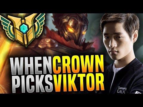 That's What Happen When Crown Picks His Main VIKTOR! - KSV Crown Picks Viktor Mid! | Be Challenger