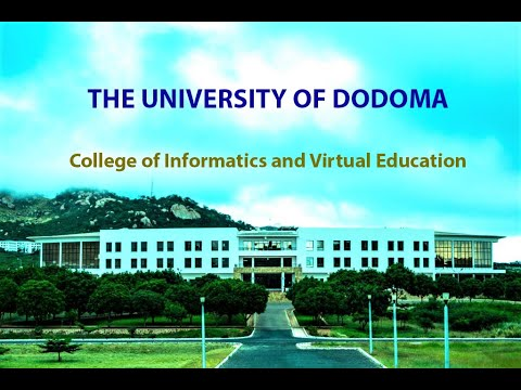 Welcome to the University of Dodoma - College of Informatics and Virtual Education 2019