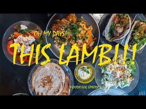 THIS LAMB!!!!  Trying Israeli Food In London