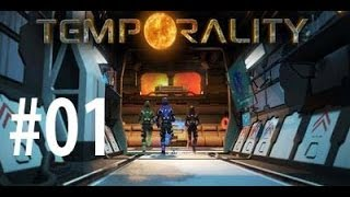 Project Temporality Gameplay Walkthrough #1 - Level 1 and 2