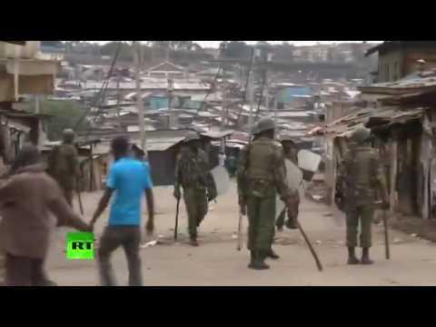 LIVE FROM  mathare slum in Nairobi Kenya