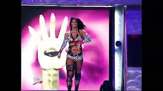 Lita & Victoria vs Molly Holly & Jazz - WWE RAW 2004 (HD)