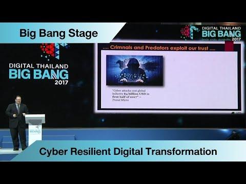 "Keynote Speech ""Cyber Resilient Digital Transformation"""