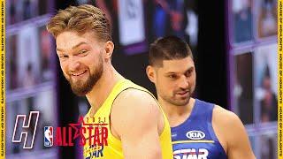 Domantas Sabonis vs Nikola Vucevic - Skills Challenge - Final Round - 2021 NBA All-Star Weekend