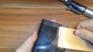 Galaxy Note Edge Remove Broken Glass