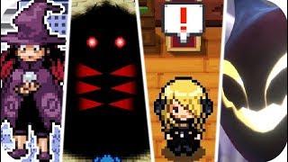 Pokémon Games - All Creepy Scenes & Scary Story (1080p60)