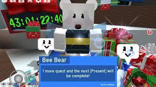 Brand New Beesmas Update + Onett's Present = OP (Roblox Bee Swarm Simulator)