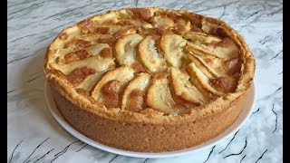 Цветаевский Яблочный Пирог / Apple Pie / Заливной Пирог с Яблоками / Простой Рецепт