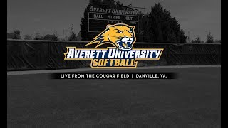 Averett softball vs. Greensboro